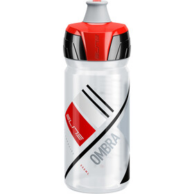 Elite Ombra Drinking Bottle 0.5 l transparent/red